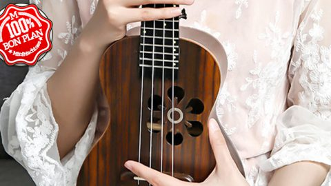 Ukulele électronique Xiaomi Populele S1 version Burlywood