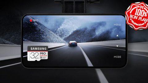 Carte MicroSDHC Samsung Pro Endurance 32Go