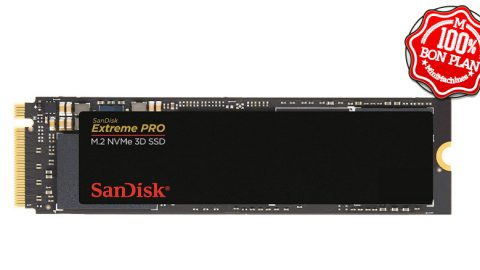 SSD Sandisk Extreme Pro 1To NVme PCIe M.2 2280
