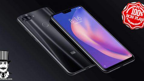 Smartphone Xiaomi Mi 8 Lite 4Go/64Go Noir