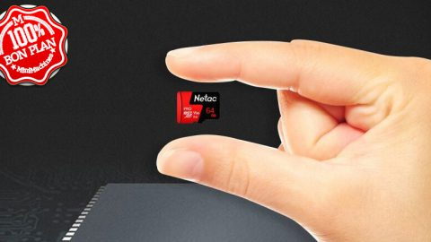 Carte MicroSDXC Netac P500 Pro 64 Go