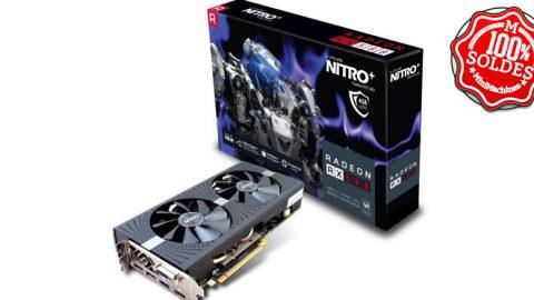 Carte Graphique Sapphire Nitro+ AMD Radeon RX580 4 Go PCI Express