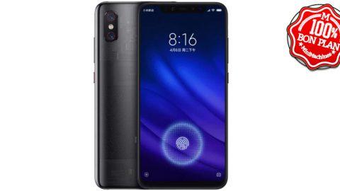 Smartphone Xiaomi Mi 8 Pro 8Go/128Go Noir Transparent