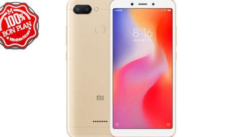 Smartphone Xiaomi Redmi 6 - 3/32Go Or
