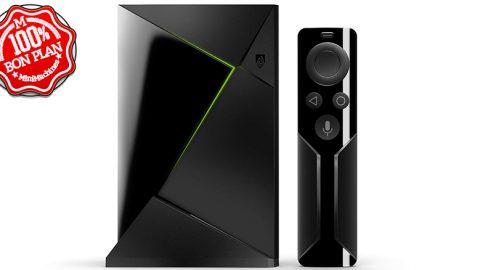 Nvidia Shield TV 2017 + télécommande