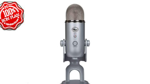 Microphone USB Blue Yeti – coloris multiples