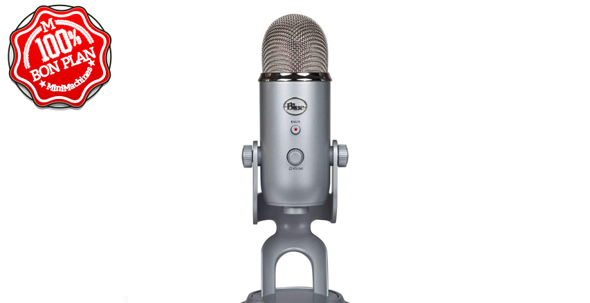 Microphone USB Blue Yeti Slate