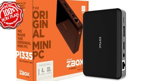 MiniPC Zotac Zbox Pico PI335 N4100 4/32Go