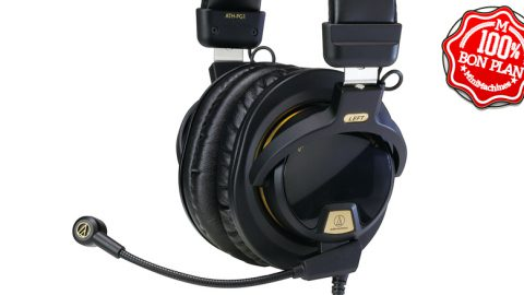 Casque gamer Audio-Technica ATH-PG1