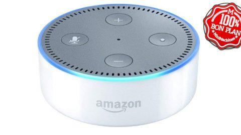Enceinte connectée Amazon Echo Dot 2eme gen