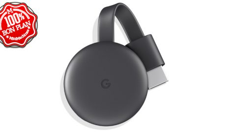 Clé TV Google Chromecast 3