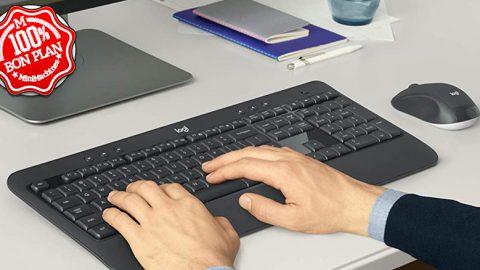 Ensemble clavier et souris Logitech MK540 sans Fil