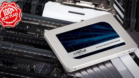 "SSD 2.5"" Crucial MX500 2To SATA III"