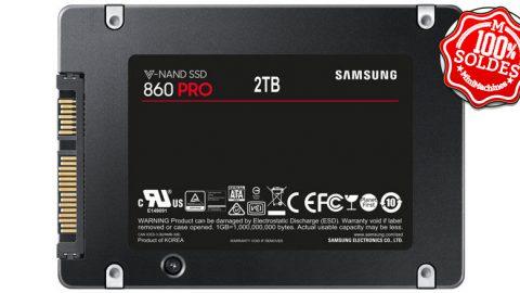 SSD 2 To Samsung Série 860 PRO - SATA III