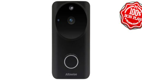 Sonnette Wifi + vidéo Alfawise L9