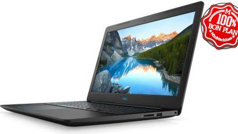 """Portable 17.3"""" Dell Inspiron G3 i5-8300H 8/128Go +1To - GTX1060"""
