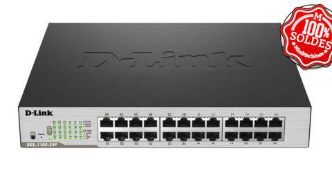 Switch D-Link DGS-1100-24P 24 ports gigabit