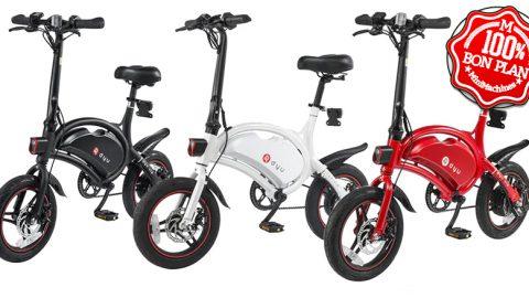 Vélo électrique F-Wheel DYU D3 Noir