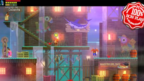 "Jeu : ""GUACAMELEE! SUPER TURBO CHAMPIONSHIP EDITION"""