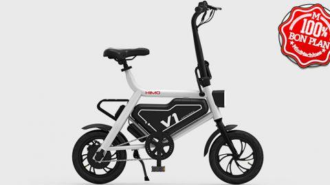 Vélo pliant électrique HIMO V1 Xiaomi Blanc