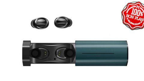 Oreillettes Bluetooth Lenovo Air TWS + étui