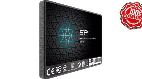 SSD Silicon Power A55 256 Go SATA3 SLC