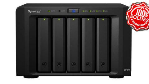 NAS 5 baies SYNOLOGY NAS DS1517