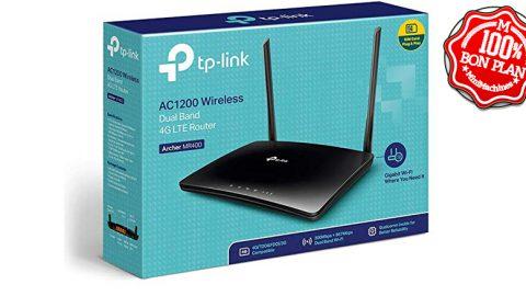 Routeur 4G + WiFi5 TP-Link Archer MR400