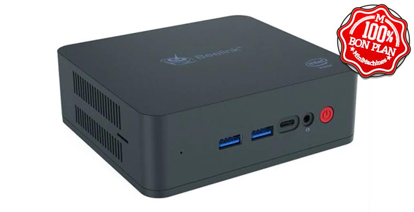 MiniPC Beelink U55 Core I3-5005U 8/512 Go M.2 + 2.5