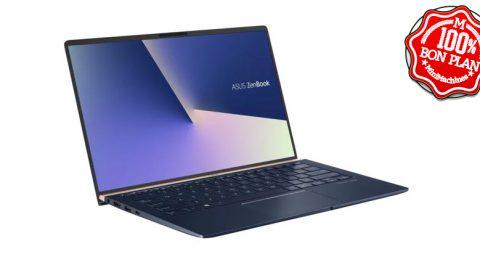 Ultraportable Asus Zenbook 14 UX433FA i5-8265U - 8 / 256 Go Bleu