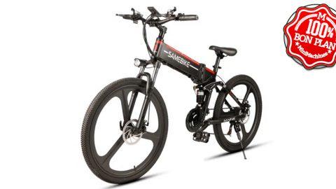 Vélo Electrique Samebike L026 Noir