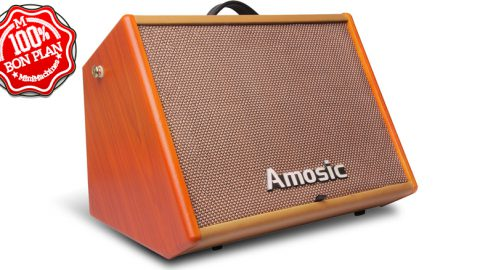 Ampli guitare électrique Amosic 25 watts