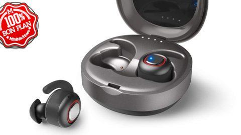 Ecouteurs Bluetooth Dodocool compatible Siri et Google Assistant