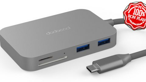 Hub USB Type-C Dodocool 7 en 1