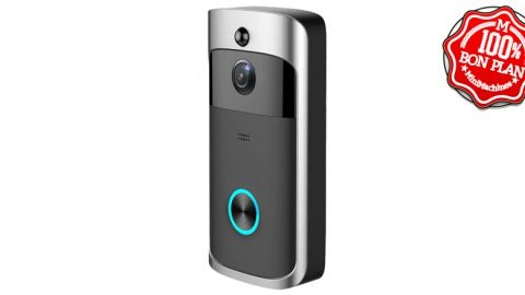 Sonnette Alfawise L10 avec webcam 720P / Wifi et MicroSD
