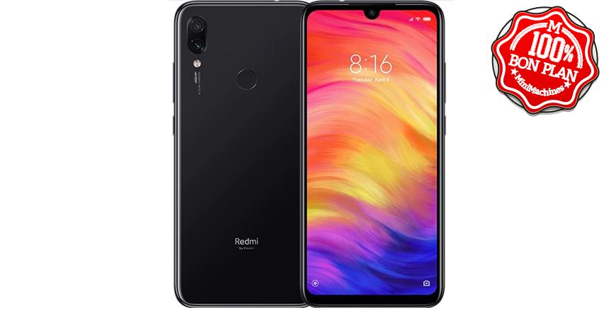 Smartphone Xiaomi Redmi Note 7 4/128 Go Noir