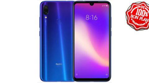 Smartphone Xiaomi Redmi Note 7 4/64 Go Bleu