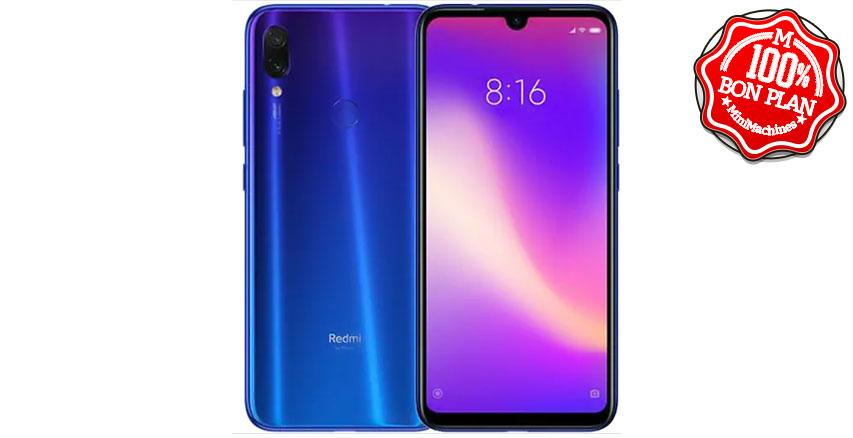 Smartphone Xiaomi Redmi Note 7 3/32 Go Bleu