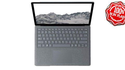 """Surface Laptop 13.5"""" Core i5-7200U - 4 Go / 128 Go"""