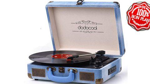 Platine vinyl Dodocool + enceintes Bluetooth / SD / USB / AUX