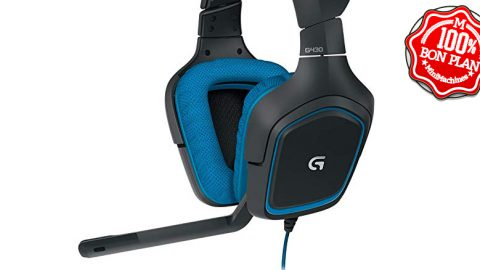 Casque gaming Logitech G430 7.1 Surround Pro