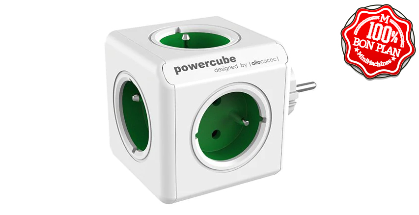 Multiprise Powercube Gocomma 1100 - 5 Prises - EU