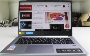 Test Acer Swift 1 : Un ultraportable efficace, léger et…