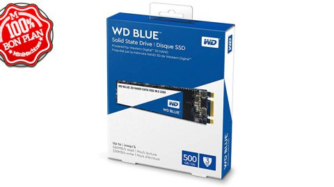 SSD M.2 SATA Western Digital Blue 250 Go