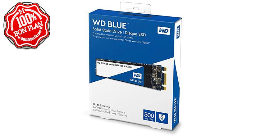 SSD 500Go Western Digital Blue SN550 PCIe NVMe