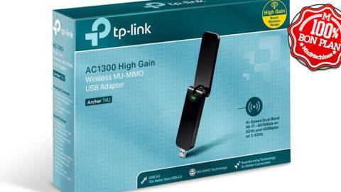 Clé USB Wifi5 TP-Link Archer T4U V3.0