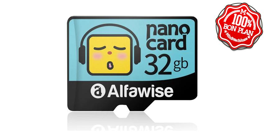 Carte MicroSD 32Go Alfawise Nano Card