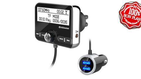 Adaptateur Bluetooth FM sur allume cigare