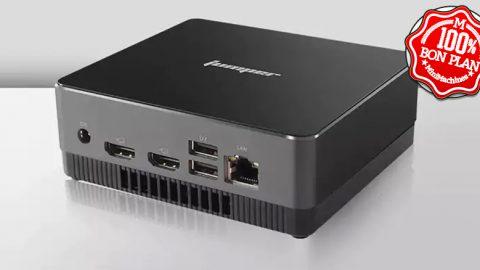 MiniPC Jumper EZbox i3 i3-5005U 8Go / 128Go + 2.5