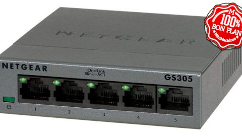 Switch 5 ports Netgear GS305-100PES